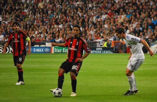 Ronaldinho y Xabi