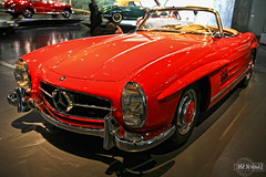 1962 Mercedes-Benz 300 SL Roadster (rbpdesigner) Tags: building slr cars tourism car sport architecture race germany deutschland mercedes europa eu