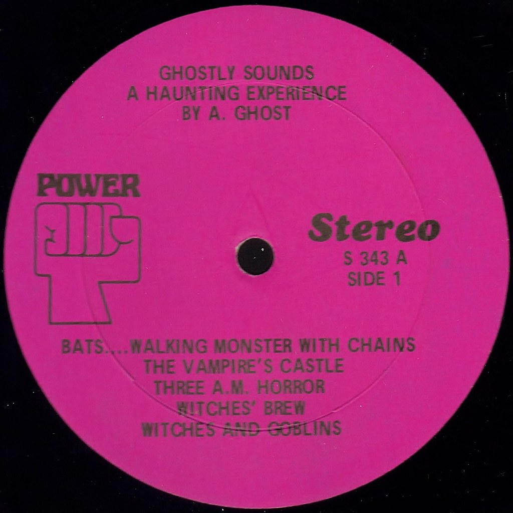 Ghostly Sounds Power Records label