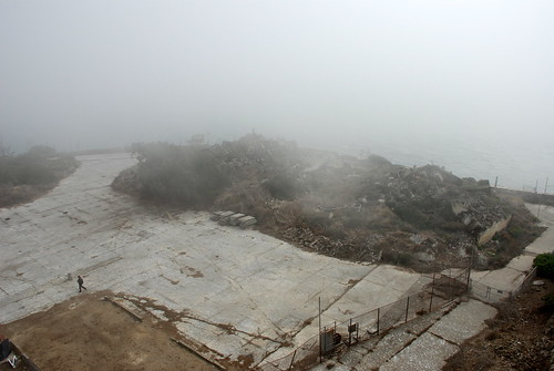 Gloomy, Dusty, Foggy Alcatraz