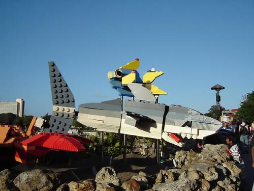 Lego shark.