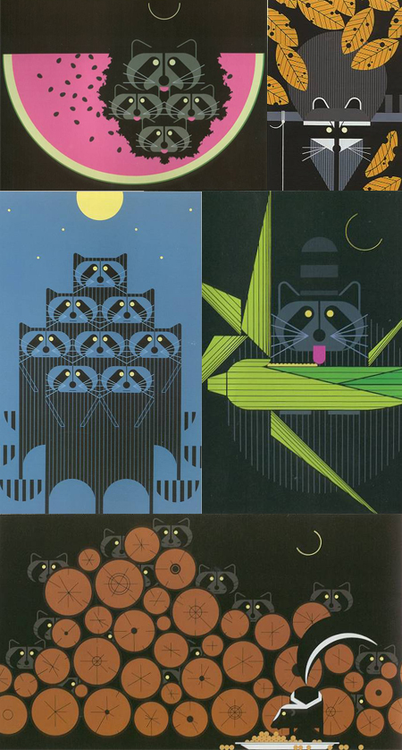 Charles Harper's Raccoons