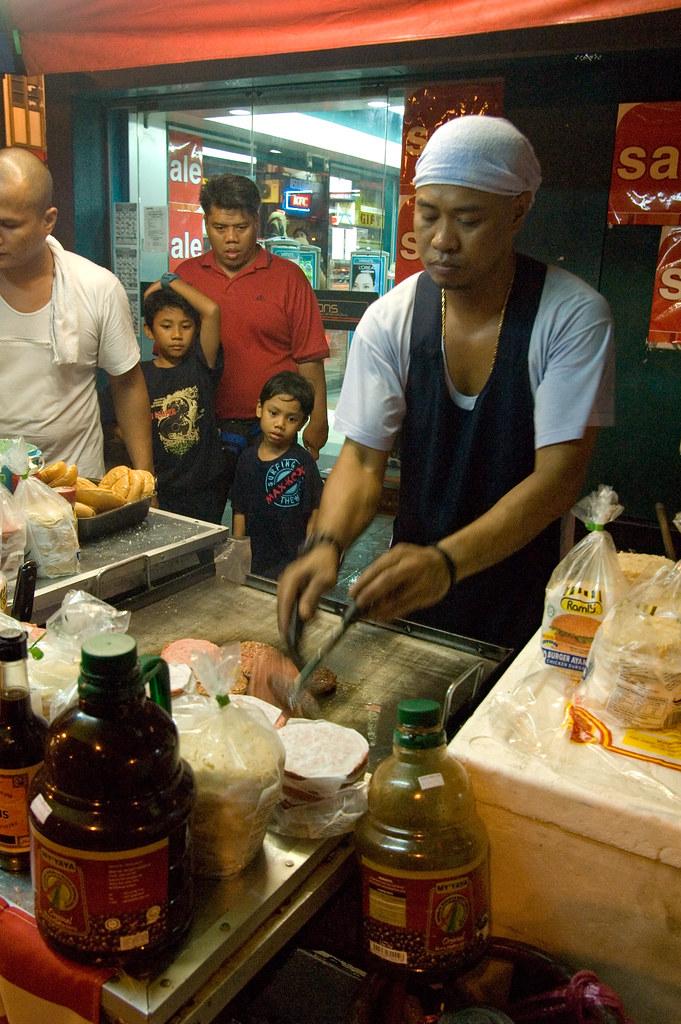 KL Ramly Burger Stall