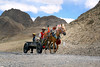 Horse Cart on the road to Tingri