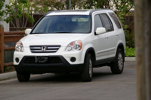 white crv with Pentax DA 50-200