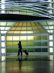 From C2B (Greg Adams Photography) Tags: travel summer chicago silhouette lights airport ohare walkway ord 2007 selectedasthebest spselection 3wayicon