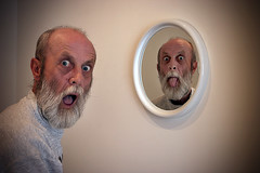 Day 013/365 Evil twin (tootdood) Tags: reflection him mirror see canon20d evil twin dont clone often 365days conceptphotos thebest365photoeveronflickr