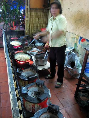 The Banh Xeo kitchen