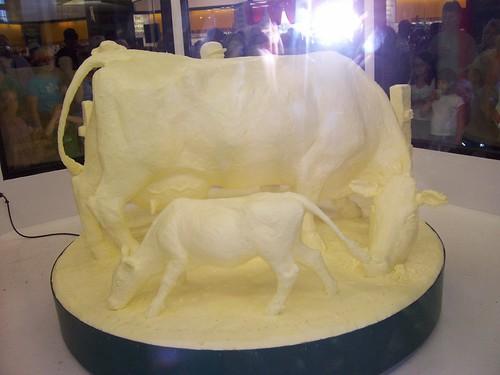 Butter Cow Sculpture!