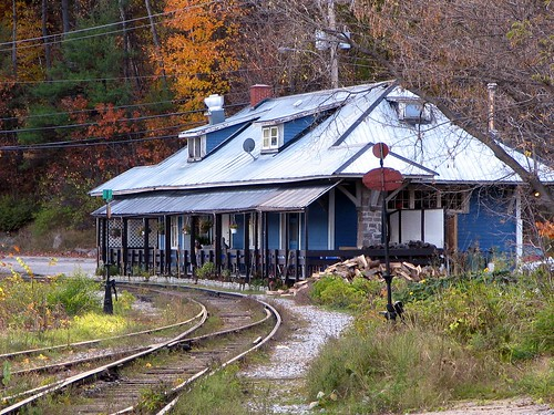 Old Train Station, Wakefield, Quebec by Ian Muttoo.