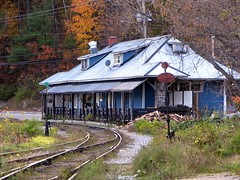 Old Train Station, Wakefield, Quebec