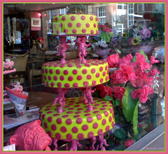 Cake ( Annieta ) Tags: cameraphone city pink food holland color colour window netherlands dutch amsterdam yellow cake shop se yummy colore sonyericsson nederland cellphone etalage powershot winkel g2 multicolored geel paysbas ville stad allrightsreserved telefoon 2007 roze kleur jummie mobieltje taart detaartvanmntante annieta 22september k810i onlythebestare colourartaward taartenwinkel usingthisphotowithoutpermissionisillegal
