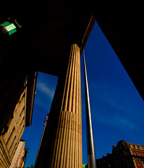 GPO and the Spire (Steve-h) Tags: blue ireland sky dublin sun streetart building sunshine stone architecture steel columns postoffice gpo canonefs1022mmf3545usm steveh mywinner abigfave royalgroup flickraward canoneos500d peaceawards rubyphotographer beautifulshot photographicexcellence40faves doubledragonawards artofimages angelawards freedomhawkgalleryofexcellence bestcapturesaoi bestpeopleschoice