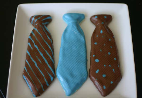 chocolate ties