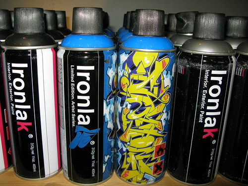 Ironlak at Proletariat!