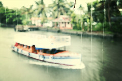 Rain, Rain (VinothChandar) Tags: india cold wet rain shower boat cool mood moody kerala rainy monsoon boating chilly raining pour chill pouring damp torrential alapuzha showery