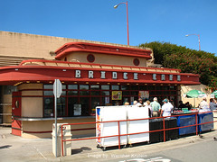 Bridge Cafe, San Francisco, California (Vern Krutein) Tags: sanfrancisco california city travel food usa history architecture restaurant landmark structure historic goldengatebridge american archives service artdeco suspensionbridge scenics ggb