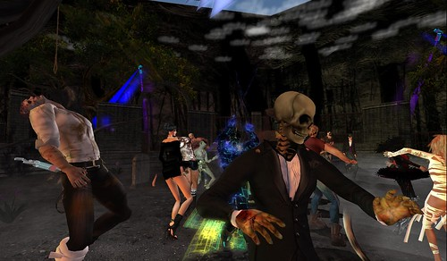 zombies come out at night at jakes club resort