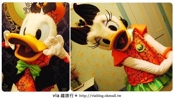 【香港旅遊】跟著via玩香港(2)~迪士尼萬聖節夜間遊行超精彩!34