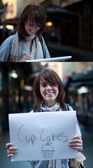5/30 (Brendan_Timmons) Tags: street portrait smile cupcakes sketch nikon strangers melbourne whatmakesyouhappy 50mmf14g d5000