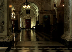 The light at the end..... (Vab2009) Tags: light floor cityhall belfast floortiles belfastcityhall striving pooloflight lightattheend brightplace lightoutofdark