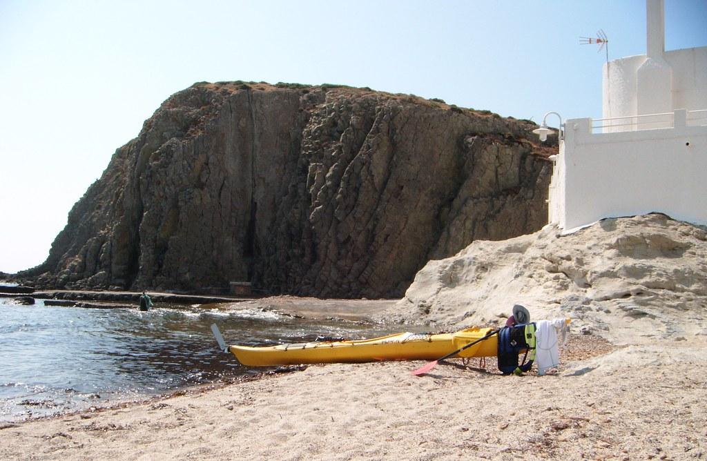 Cabo de Gata en kayak 718