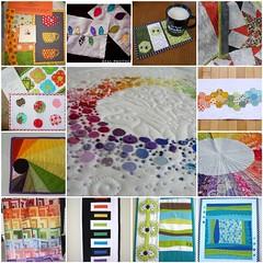 Mug Rug Inspiration Mosaic 1 (~Me1issa) Tags: inspiration swap mugrug