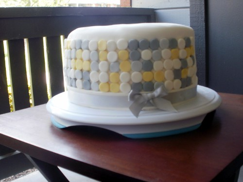 Modern Dot Cake