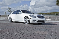 "Mercedes S550 on our 22"" ADV5 (ADV1WHEELS) Tags: wheel mercedes wheels s65 rim forged amg s550 s63 adv1 adv5 adv1wheels"