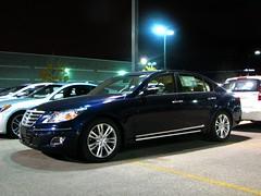 Hyundai Genesis 4.6L V8 (MSVG) Tags: blue toronto ontario canada sedan navy future genesis hyundai mississauga dixie v8 401 46 2012 2010 2011 46l worldcars