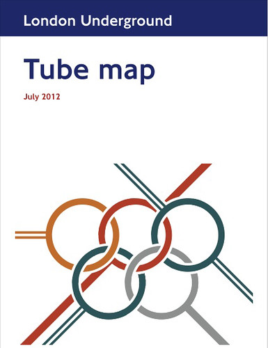 Max Roberts' 2012 Fictional Tube Map Cover - click to see in full
