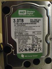 harddrive hdd westerndigital wd30ezrs