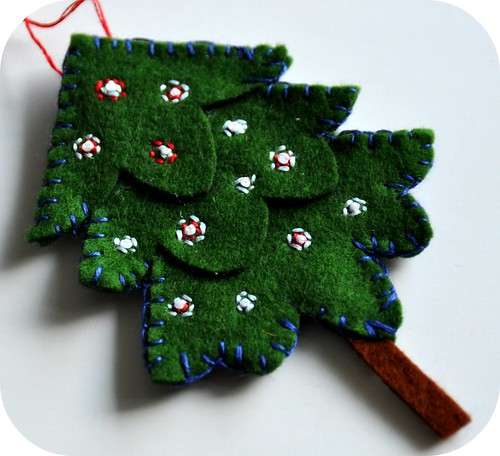 Felt Tree Ornament