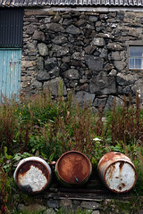 wall (sigrun th) Tags: colors stone architecture barrels barrel form faroeislands freyjar froyar