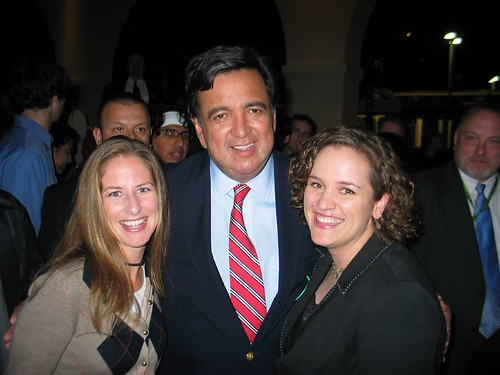 Allison, Bill Richardson, and Happy