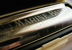 Hohner Marine Band blues harp
