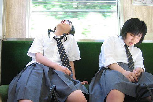 korean schoolgirls