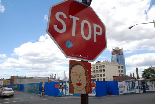 Stop Sign on Wythe