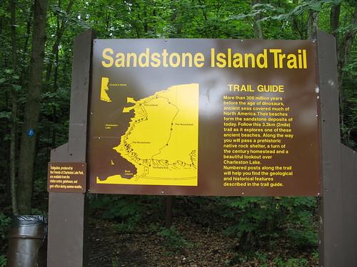 Sandstone Island Trail