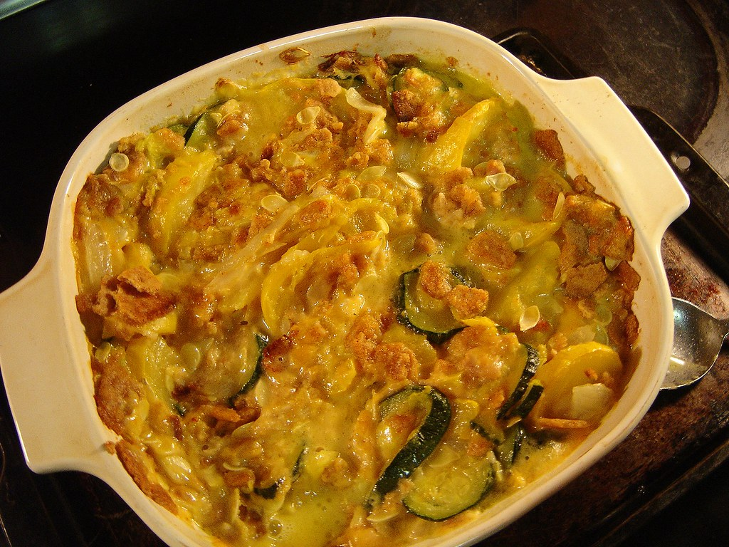 Early Summer Squash & Zuchinni Chicken C by trekkyandy, on Flickr