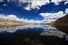 Tso Moriri Lake (Prabhu B Doss) Tags: travel blue india lake nature beautiful clouds reflections skyscape landscape photography landscapes nikon scenery heaven cloudy sigma naturallight crosscountry preciosa lonelyplanet 1020mm leh reflexions 1020 f8 himalayas cloudscape jk ladakh nationalgeographic clearwater heavenonearth wildlifesanctuary freshwaterlake sigma1020mm travelphotography jammuandkashmir lakescape highaltitudelake korzok bikeexpedition naturesmagic supershot freezingwater beautifullandscape incredibleindia d80 flickrsbest traveltoindia nikonstunninggallery wideangleshot moonland nikond80 superbmasterpiece prabhub lakesofindia manalilehhighway borderroadsorganisation prabhubdoss naturewatcher tsomorririlake ladakhvillage ladakhlakes projecthimank strongclouds summerinladakh ncredibleindia welcometoindia jammuandkashmirtourism landoflamas indianlandscapes nizhalgal tamilsongs bcmtouringcom
