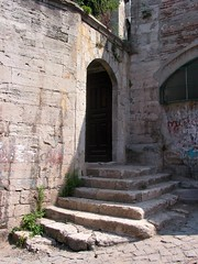 Sokollu Mehmet Paa Camii, accs sud (cercamon) Tags: istanbul mosque cami escalier picnik estambul mosque kadirga mimarsinan sokullu sokollumehmetpasha kadrga sokollumehmetpaacamii sokollumehmetpaa kadirgasokullumosque