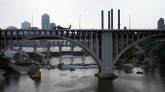 I-35W Bridge Collapse(5) (Poppyseed Bandits) Tags: bridge news unitedstates photojournalism minneapolis disaster collapse emergency mn 35w breakingnews takenbyjeff i35w bridgecollapse summer2007 minnesotabridgecollapse minneapolisbridgecollapse 35wbridgecollapse