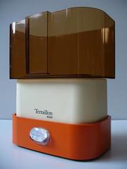 terraillon kitchen scale design marco zanuso, 1970 (fabrye) Tags: orange design ebay plastic 70s seventies marcozanuso kitchenscale