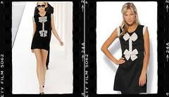 Vestido Chanel com laço