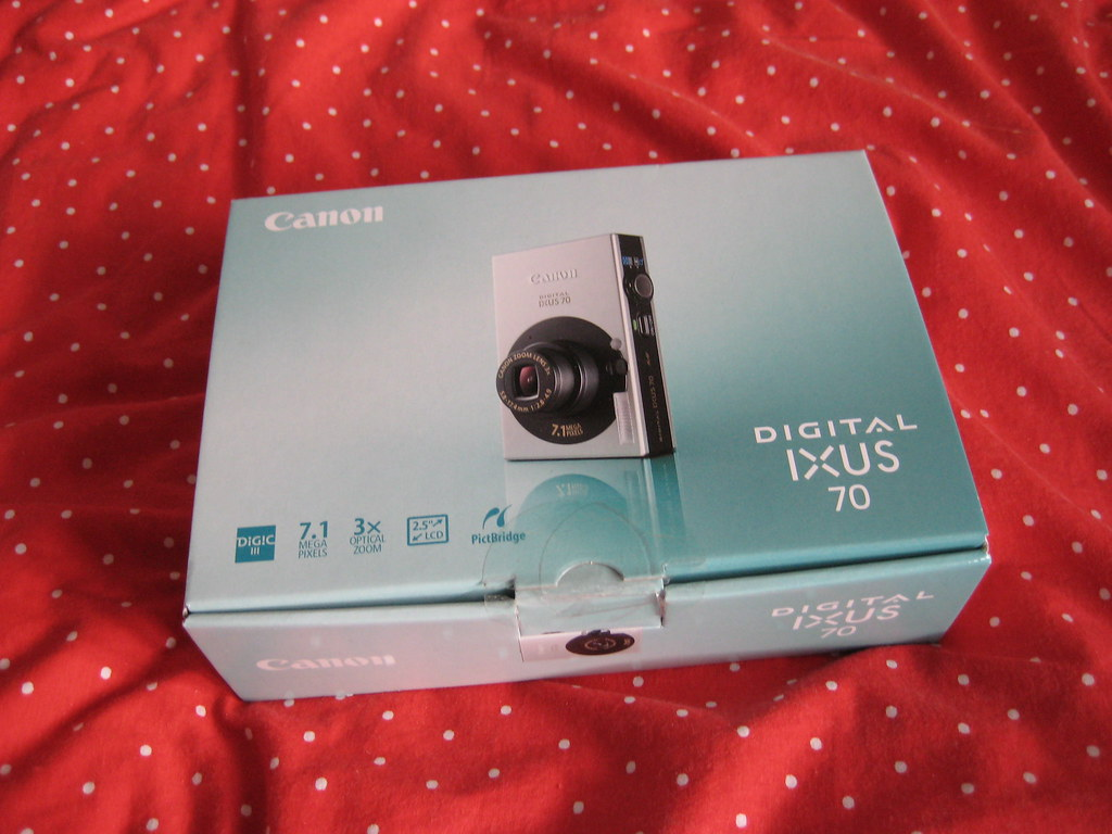 Canon Ixus 70 : new camera!