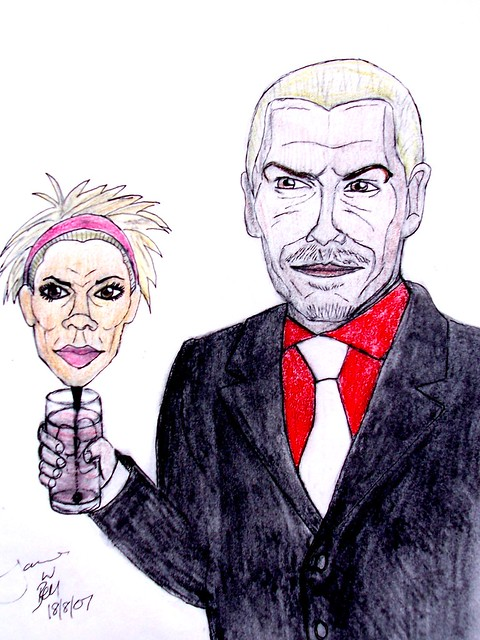 Mr and Mrs Beckham 2 by James W Bell - Leeds