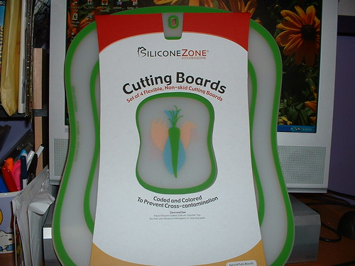 Cutting boards.