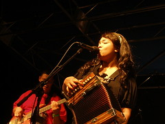ROSIE LEDET AT 2007 THIRSTY EAR FESTIVAL