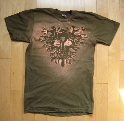 Green Man Shirt 2